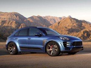 тюнеры представили бодикит для кроссовера Porsche Macan