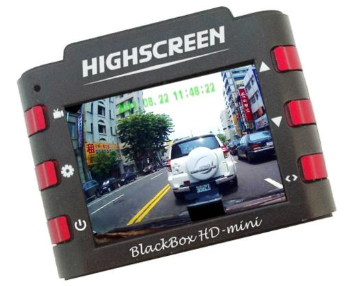 видеорегистратор Highscreen Black Box HD-mini