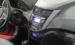 Навигация для Hyundai Solaris