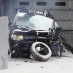 Краш-тест Mitsubishi Outlander 2013 от IIHS (видео)