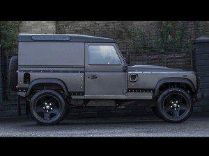 тюнеры поставили на Land Rover Defender 500-сильный мотор