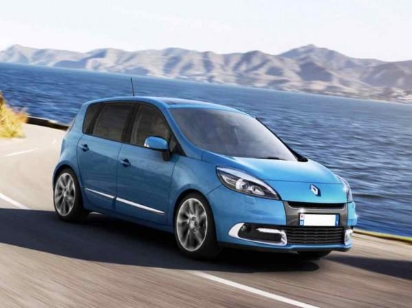 Renault Scenic 2012 в России