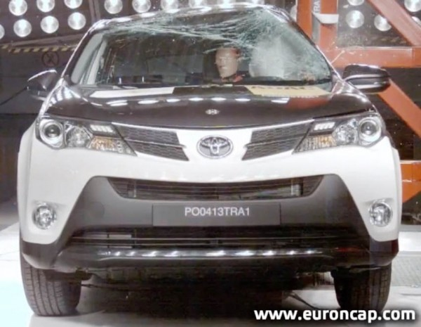 Краш-тесты Toyota RAV4, Auris