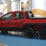Dacia Dustruck — шестиколёсный Renault Duster (фото)