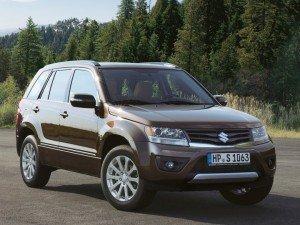 Кроссовер Suzuki Grand Vitara не снимают с производства
