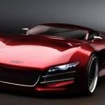 Концептуальный суперкар Audi R10 V10 от студента-дизайнера из Швеции
