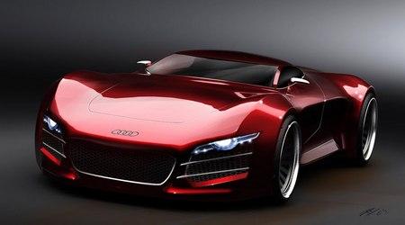 Концептуальный суперкар Audi R10 V10 от студента-дизайнера