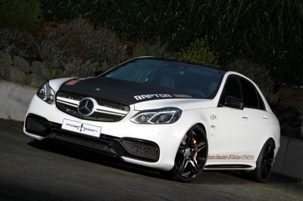 Posaidon увеличил мощность Mercedes E63
