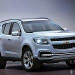 В России для ремонта отзываются внедорожники Chevrolet Trailblazer