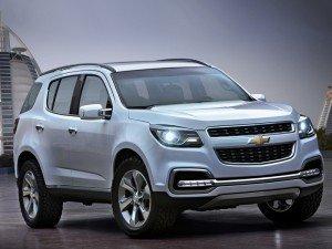 отзываются внедорожники Chevrolet Trailblazer