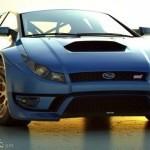 Концепт Subaru Impreza WRX STI от независимых дизайнеров