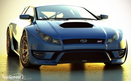 Subaru Impreza WRX STI от независимых дизайнеров