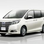Представлен новый минивэн Toyota Esquire 2015