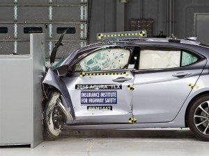Acura получила наивысшую оценку на краш-тестах