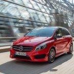В России уже можно заказать обновленный вэн Mercedes B-Class