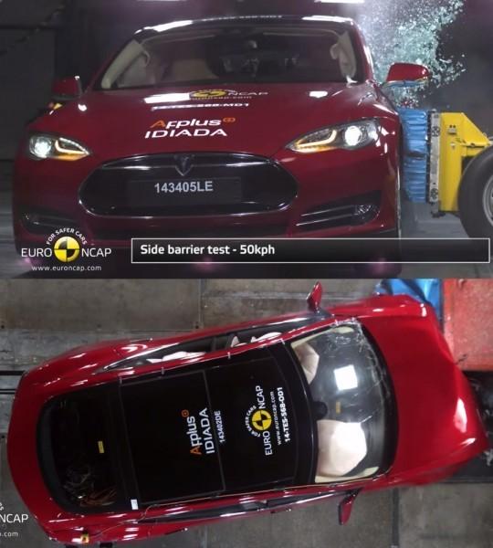 Краш-тест Tesla Model