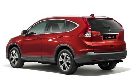 Honda CR-V придет в Европу осенью