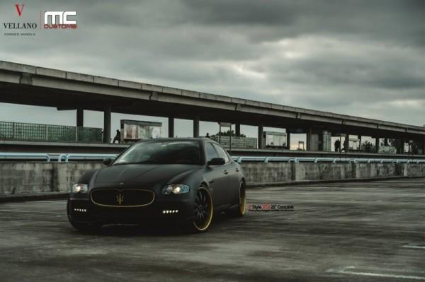 Maserati в стилистической настройке