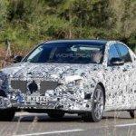 Новый Mercedes E-Class впервые заснят с производственной светотехникой