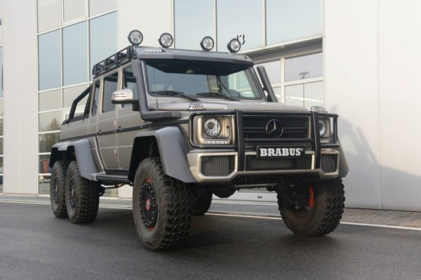 Mercedes 6×6 с внедорожным пакетом от Brabus