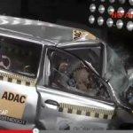 Хэтчбек Datsun Go не выдержал фронтальный краш-тест