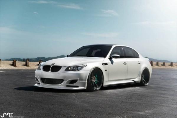 BMW M5 в обвесе EGTS60