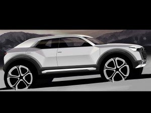 подробности о кроссовере Audi Q1