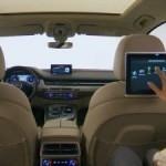 В Audi рассказали, как работают планшеты внутри нового Q7