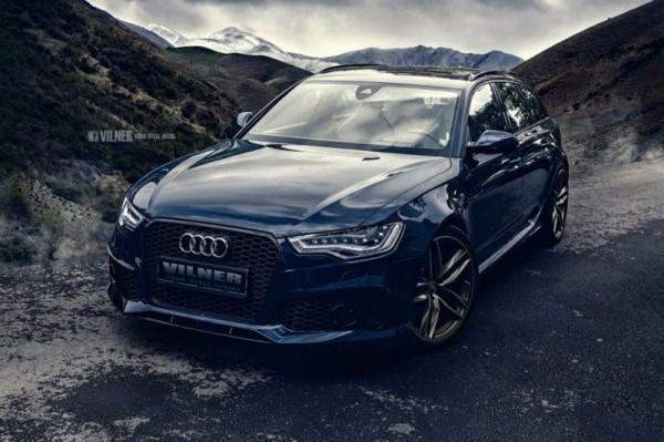 Audi RS6 с роскошным интерьером