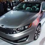 Новые комплектации Kia Optima 2012 — Prestige и Luxe
