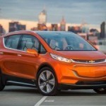 Chevrolet представила в Детройте электрический концепт Bolt