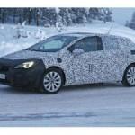 Новая Opel Astra уже проходит предсерийные тесты