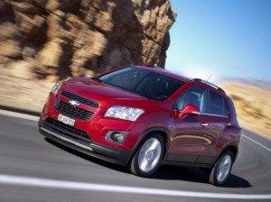 Chevrolet начнет поставлять в Россию два внедорожника