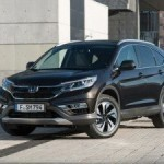 Рассекречена обновленная Honda CR-V в исполнении для рынков Европы
