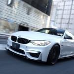 BMW M4 в обвесе японского ателье 3D Design