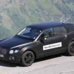 Первый кроссовер Bentley будет называться Bentayga