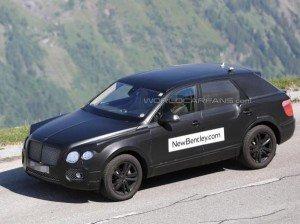 Bentley будет называться Bentayga