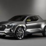 Hyundai представил в Детройте концепт кроссовера-пикапа