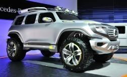 Внедорожник из будущего Mercedes-Benz Ener