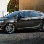 Новый Opel Astra седан 2013