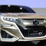 Honda официально представила концепт кроссовера Concept D на автошоу в Шанхае