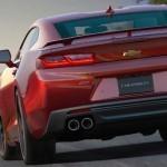 Новый Chevrolet Camaro получит селектор режима поездки