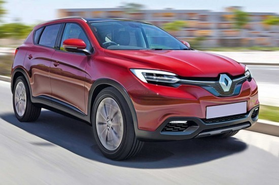 Renault Koleos 2015 — 2016