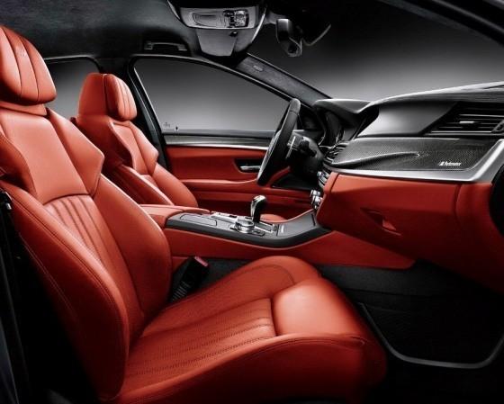 BMW M5 Nighthawk салон
