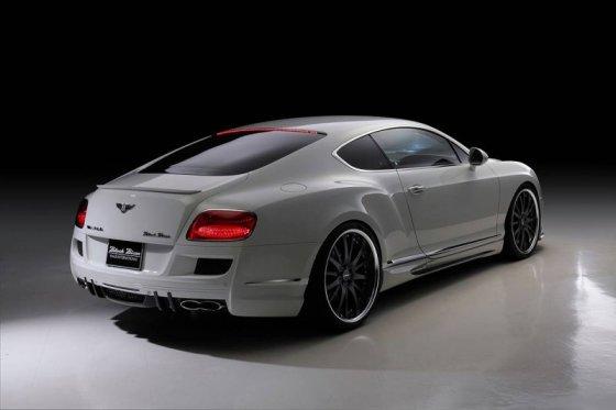 Bentley Continental GT Black Bison