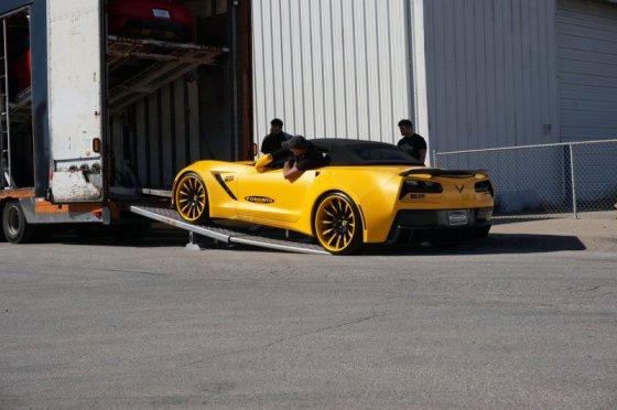750-сильный Chevrolet Corvette