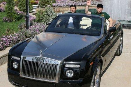 Коллекция авто Кадырова
