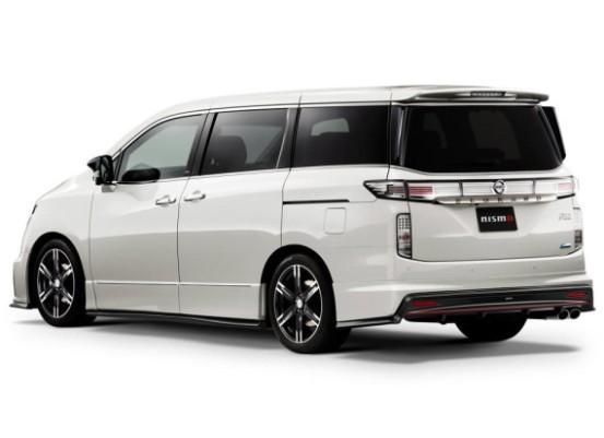 Новый Nissan Elgrand (E52)