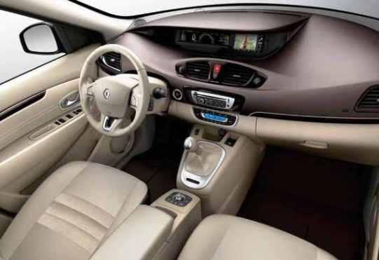 Новый Renault Scenic 2012