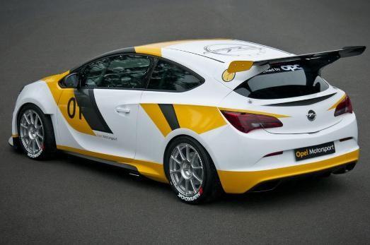 Opel Astra OPC Motorsport 2014
